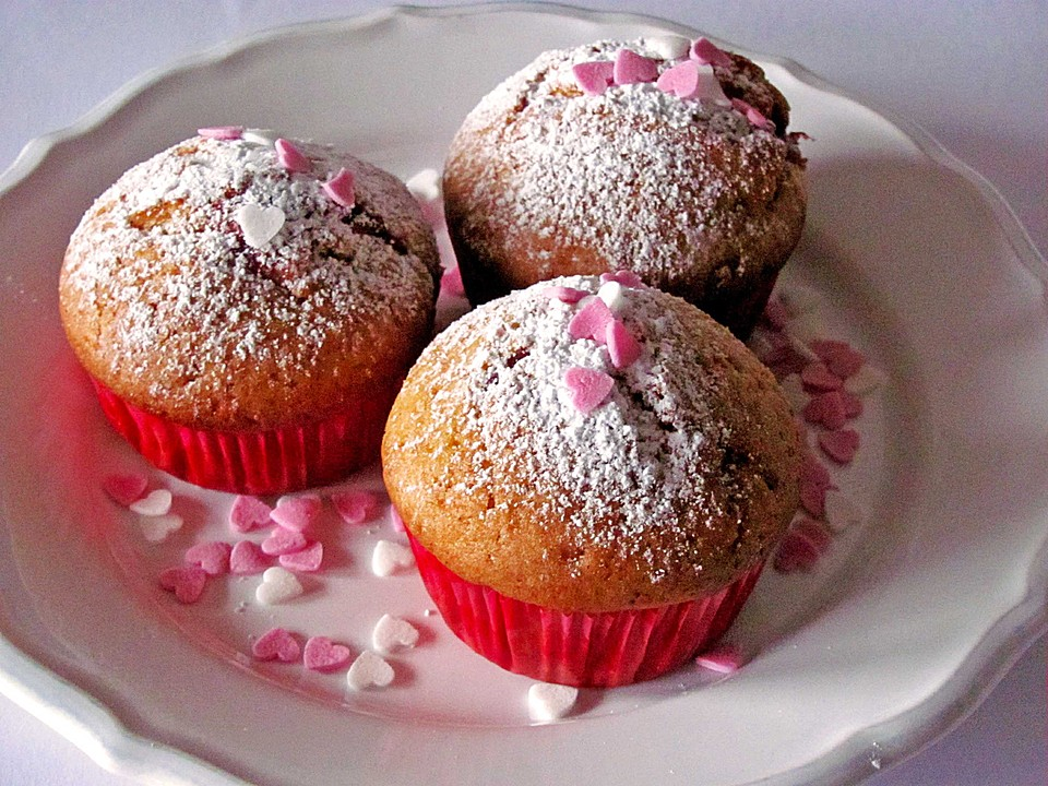 muffins mit f llung rezept mit bild von leicht gahr gekocht. Black Bedroom Furniture Sets. Home Design Ideas
