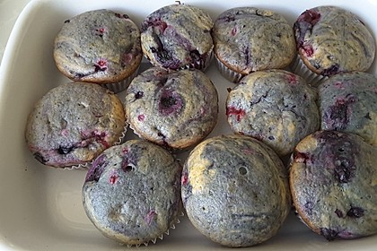 Fluffige vegane Muffins 55
