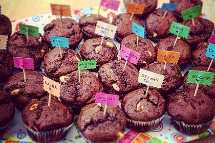 Fluffige vegane Muffins 8