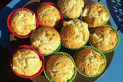 Fluffige vegane Muffins 9