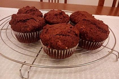 Fluffige vegane Muffins 32