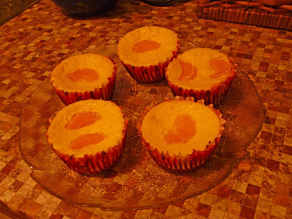 Käsekuchenmuffins Mit Mandarinen (Rezept Mit Bild) | Chefkoch.De