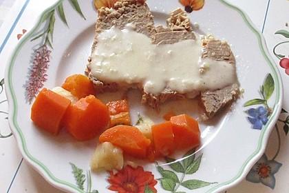 Tafelspitz mit Meerrettichsoße, im Schnellkochtopf gegart 1