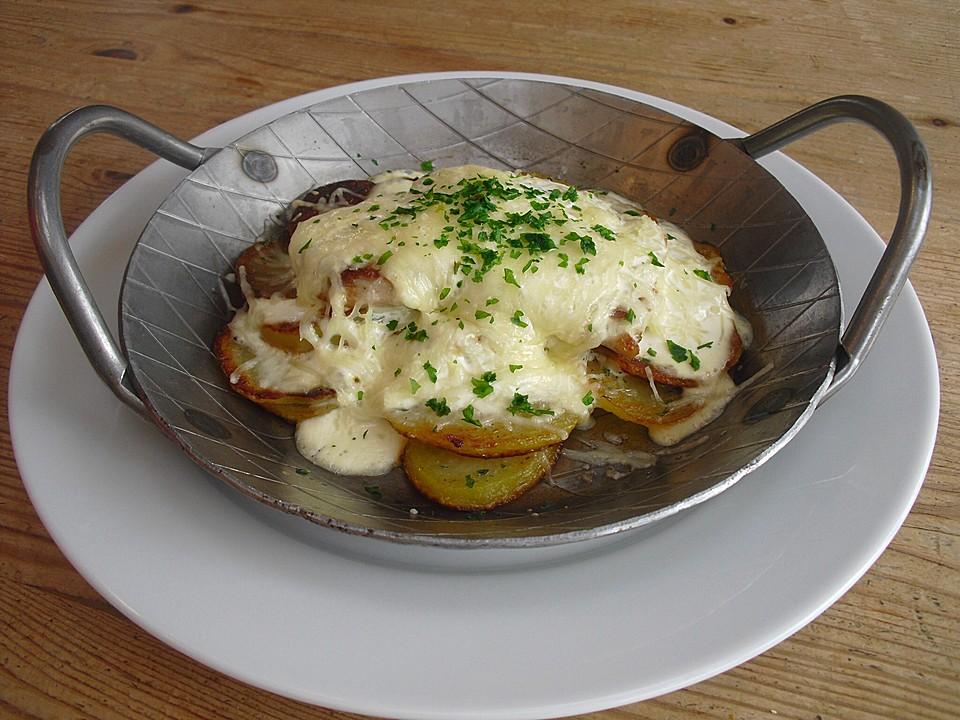 Bratkartoffel Schnitzel Auflauf