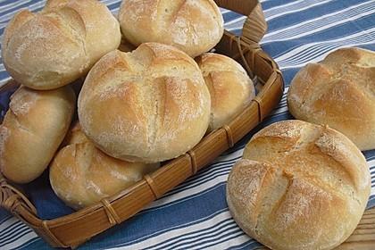 Brötchen, perfekt wie vom Bäcker 1