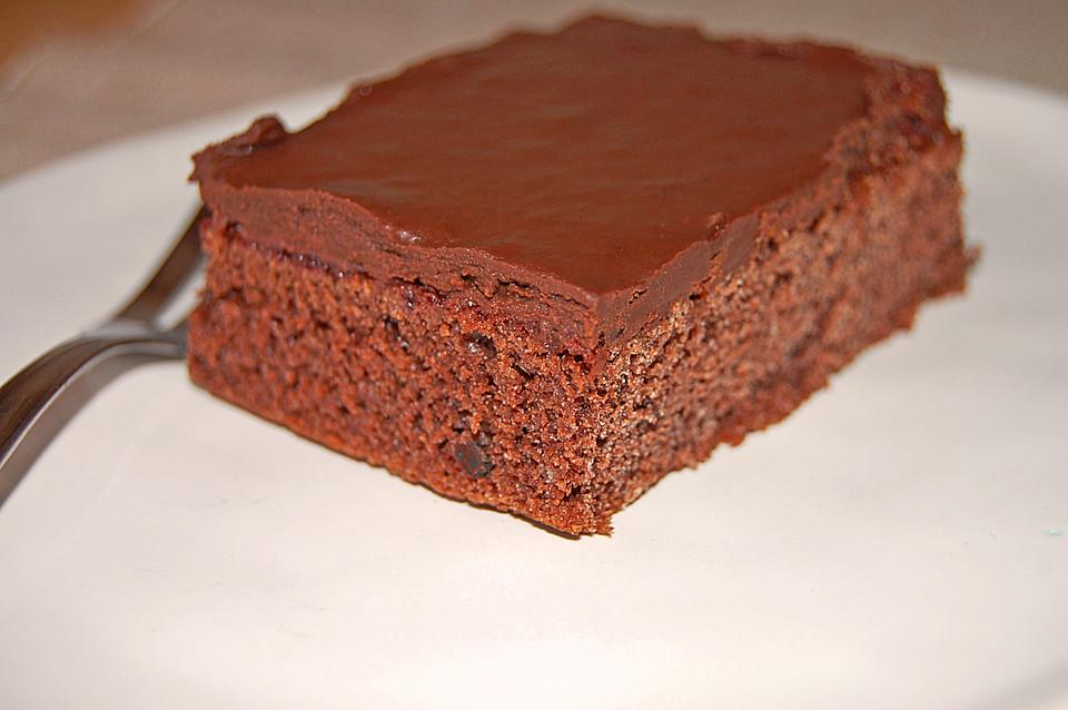 schokoladenkuchen vom blech von katzentiger. Black Bedroom Furniture Sets. Home Design Ideas