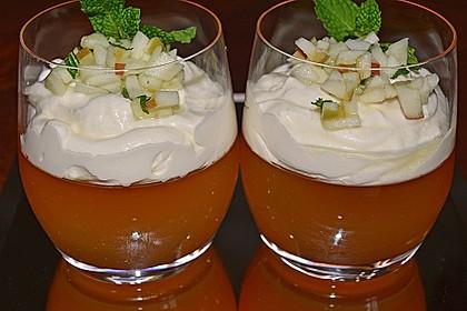 Apfelgelee mit Vanille-Mascarponecreme und Apfel-Tatar 2