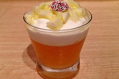 Apfelgelee mit Vanille-Mascarponecreme und Apfel-Tatar 11