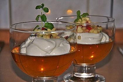 Apfelgelee mit Vanille-Mascarponecreme und Apfel-Tatar 9