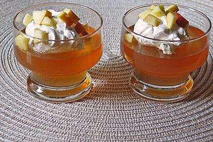 Apfelgelee mit Vanille-Mascarponecreme und Apfel-Tatar 8