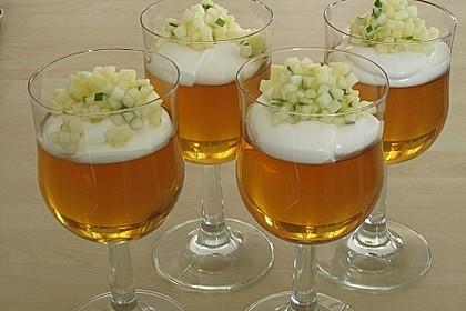 Apfelgelee mit Vanille-Mascarponecreme und Apfel-Tatar 7