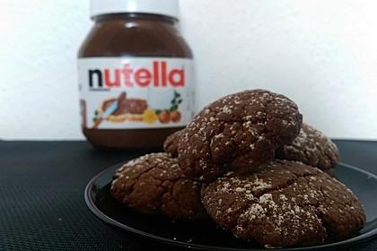Superschnelle Nutella-Plätzchen 42