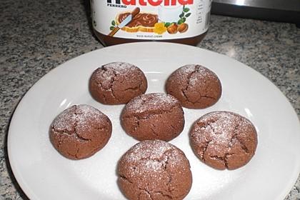 Superschnelle Nutella-Plätzchen 27