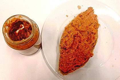 Brotaufstrich oder Dip mit Amarant und Linsen