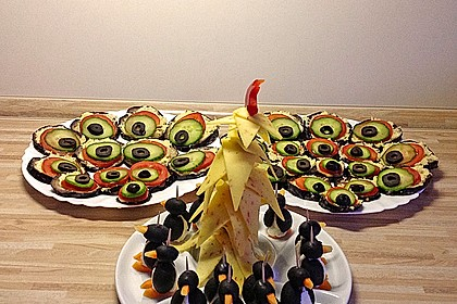 Oliven ziegenk se pinguine von midnightcooking for Was macht man als innenarchitekt