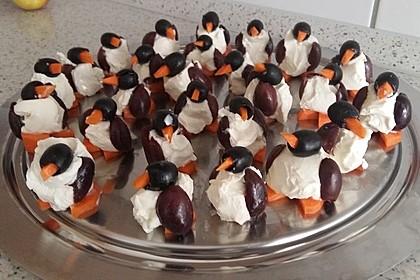 Oliven-Ziegenkäse-Pinguine 17