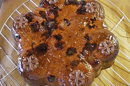Heidelbeer - Marzipan - Kuchen 1