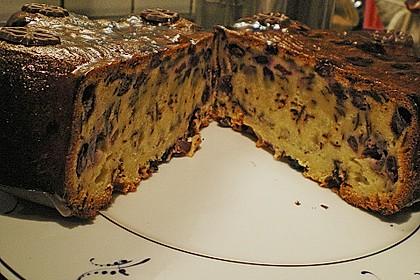 Heidelbeer - Marzipan - Kuchen 2