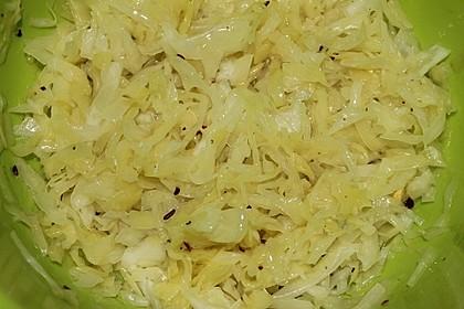 Griechischer Krautsalat 3