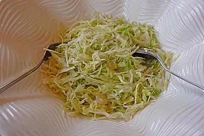 Griechischer Krautsalat 2
