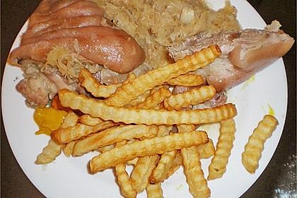 Eisbein auf Sauerkraut 13