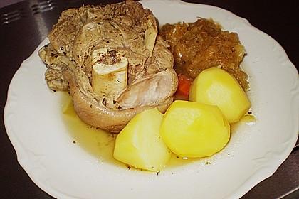 Eisbein auf Sauerkraut 5