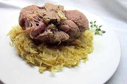 Eisbein auf Sauerkraut 6