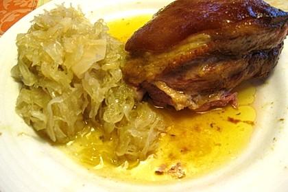 Eisbein auf Sauerkraut 14