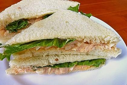 Thunfischcreme für Sandwich