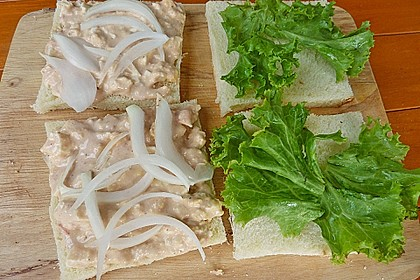 Thunfischcreme für Sandwich 1