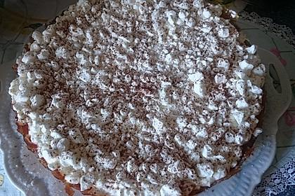 Apfelkuchen mit Zimt - Sahnehaube 45