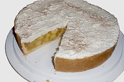 Apfelkuchen mit Zimt - Sahnehaube 10