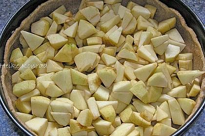 Apfelkuchen mit Zimt - Sahnehaube 75