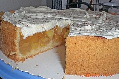Apfelkuchen mit Zimt - Sahnehaube 4