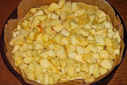 Apfelkuchen mit Zimt - Sahnehaube 60
