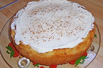 Apfelkuchen mit Zimt - Sahnehaube 42