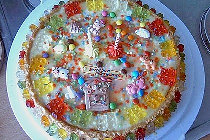 Gummibären Torte 17