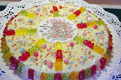 Gummibären Torte 4