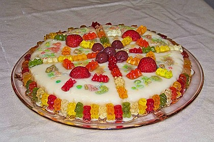 Gummibären Torte