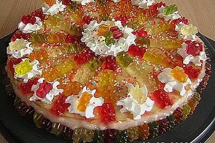 Gummibären Torte 8