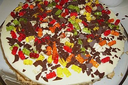 Gummibären Torte 16
