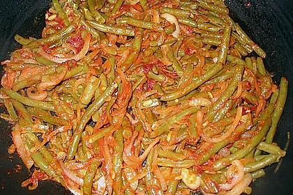 Kasseler mit Bohnen - Tomatensoße 2