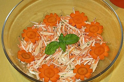 Karotten - Sellerie - Salat 2