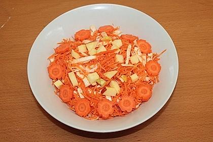 Karotten - Sellerie - Salat 4