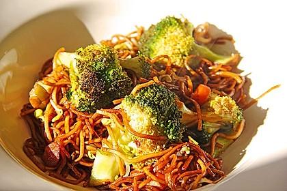 Vegetarisches Chow Mein 1