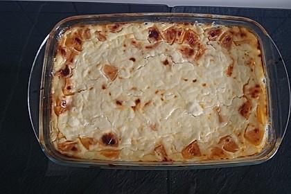 Pfirsich - Schmand - Creme aus dem Ofen 4