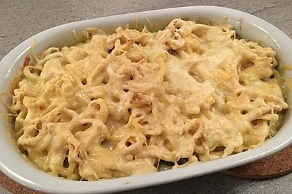Käsespätzle mit Blattspinat 2