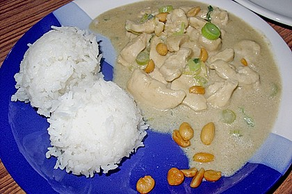 Puten - Erdnuss Curry