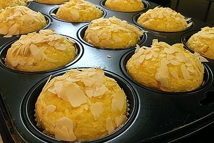 Kokos - Orangen - Muffins