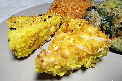Panierter Feta - Käse (Bild)